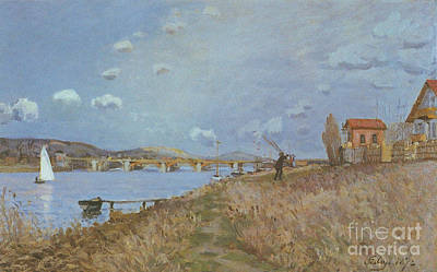 Australia Painting - The Seine At Argenteuil by MotionAge Designs