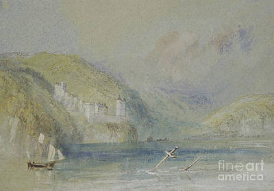 Mist Painting - The Seine Near Tancarville by Joseph Mallord William Turner