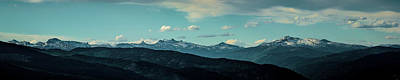 Photograph - The Selkirks Of North Idaho by Albert Seger