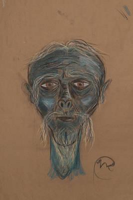 The Sensei Art Print by Nicholas Culleton