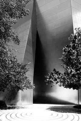 Photograph - The Sensuous Secret Portal At Disney Hall by Lorraine Devon Wilke