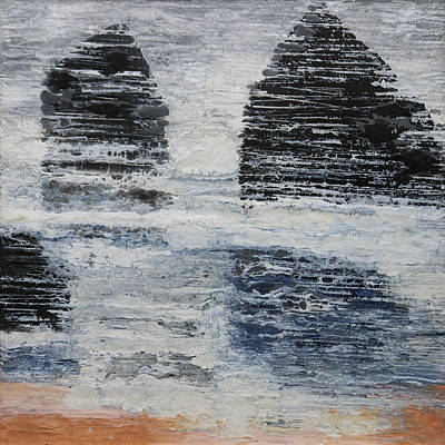 Painting - The Sentinels by Lia Melia
