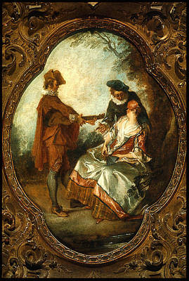 1743 Painting - The Serenade La by MotionAge Designs