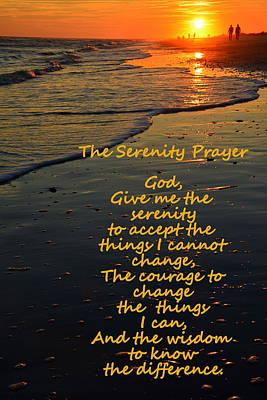 Photograph - The Serenity Prayer by Lisa Wooten