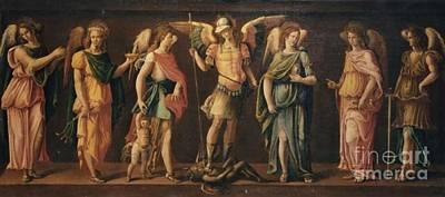 The Seven Archangels Art Print