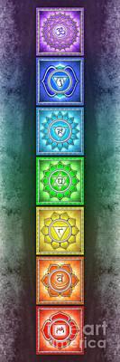 The Seven Chakras - Series 2 Artwork 2.3 Art Print