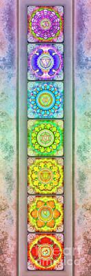 The Seven Chakras - Series 3 Artwork 2.3 Art Print