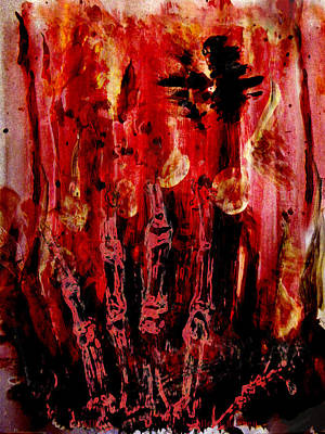 Painting - The Seven Deadly Sins - Wrath by Colleen Ranney