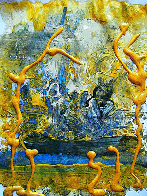 Painting - The Seven Sins- Greed by Colleen Ranney
