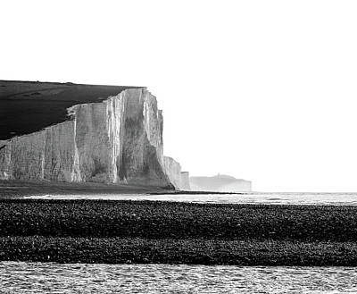 Photograph - The Seven Sisters, Sussex England  by Will Gudgeon