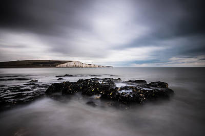 Photograph - The Seven Sisters, Sussex Uk by Will Gudgeon