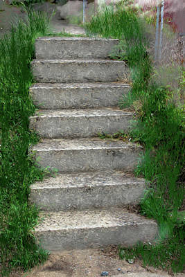 Photograph - The Seven Steps by John Haldane
