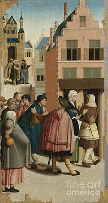 Works Of Mercy Painting - The Seven Works Of Mercy by Celestial Images