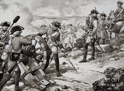 The Seven Years' War Art Print