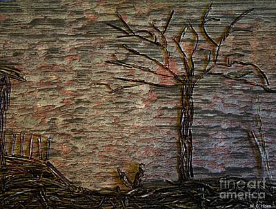 The Shack And Tree Art Print by Mary Chris Hines