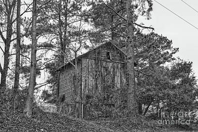 Photograph - The Shack In Black And White by Kathy Baccari