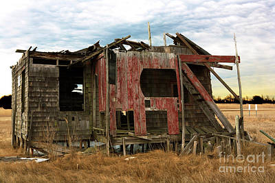 Photograph - The Shack by John Rizzuto