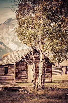 Bishops Peak Photograph - The Shack by Teresa Wilson