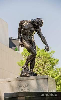 Photograph - The Shade - Rodin by David Bearden