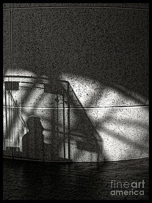 Photograph - The Shadow Of A Man by Jeff Breiman