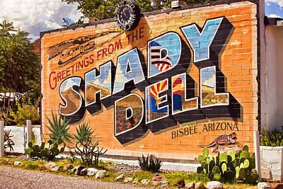 The Shady Dell Bisbee Az Art Print by Lynn Andrews