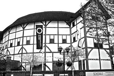 Photograph - The Shakespeare Globe Theatre, London by Aidan Moran