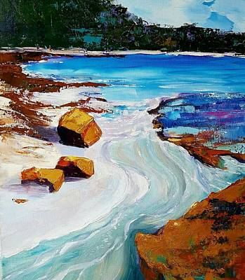 Painting - The Shallows by Kathy  Karas