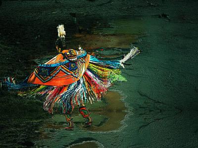 The Shaman Art Print by Irma BACKELANT GALLERIES