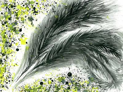 Mindfulness Painting - The Shaman's Journey #613 by Rainbow Artist Orlando L aka Kevin Orlando Lau