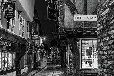 Photograph - The Shambles At Night by David  Hollingworth