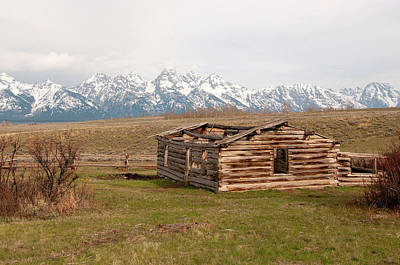 Photograph - The Shane Cabin by Steve Stuller