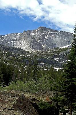 Photograph - The Shank And Chiefs Head Rocky Mountain National Park by NaturesPix