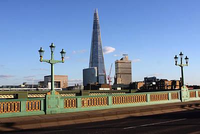 Photograph - The Shard From Southwark Bridge by Aidan Moran