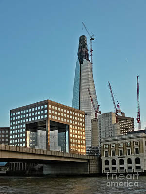Photograph - The Shard London Bridge by Terri Waters