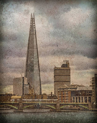 Photograph - London, England - The Shard by Mark Forte