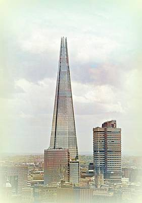 Futurism Architecture Wall Art - Photograph - The Shard by Toni Abdnour