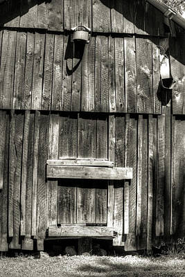 Photograph - The Shed Excape Hatch by Douglas Barnett