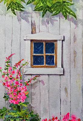 Painting - The Shed by Mary Ellen Mueller Legault