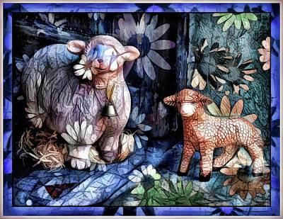 The Sheep Blue Version  Original by Daniel Arrhakis