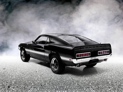 The Shelby Mustang Art Print