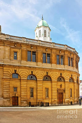Photograph - The Sheldonian Theatre Oxford by Terri Waters