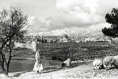 Photograph - The Shepherd 1934 by Munir Alawi