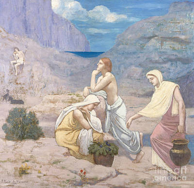 The Shepherds Painting - The Shepherd's Song, 1891 by Pierre Puvis de Chavannes