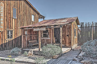 Photograph - The Sheriff's Office by Jim Thompson