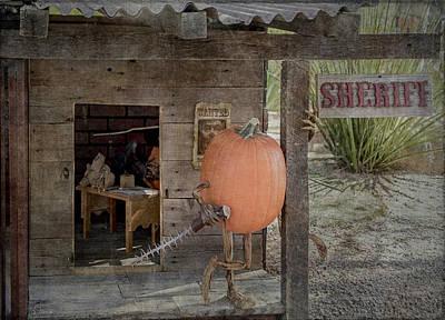 Photograph - The Sherrif by Teresa Wilson