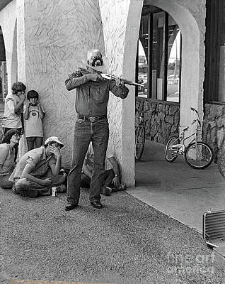 Shootist Photograph - The Shootist by Frank Vargo