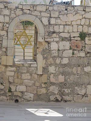 Photograph - The Shield Of David by Donna L Munro