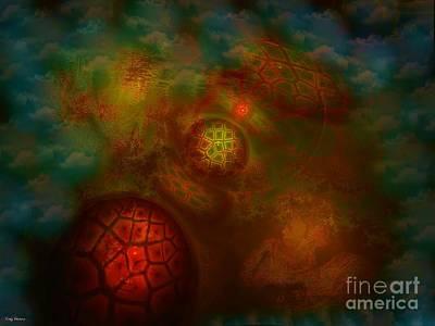 Conscious Digital Art - The Shift by Craig Hitchens