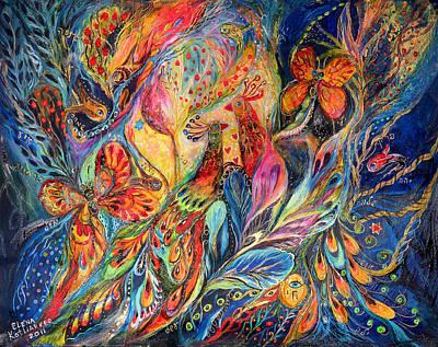 The Shining Of The Night Art Print by Elena Kotliarker