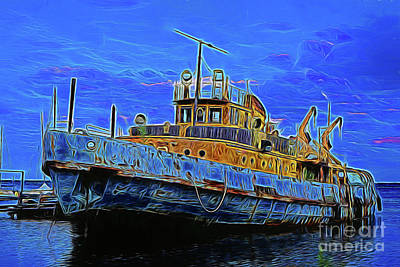 Photograph - The Ship 15418 by Ray Shrewsberry
